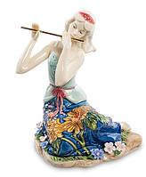 "Фарфоровая cтатуэтка девушка ""Волшебная флейта"" (Pavone) JP-37/ 6"