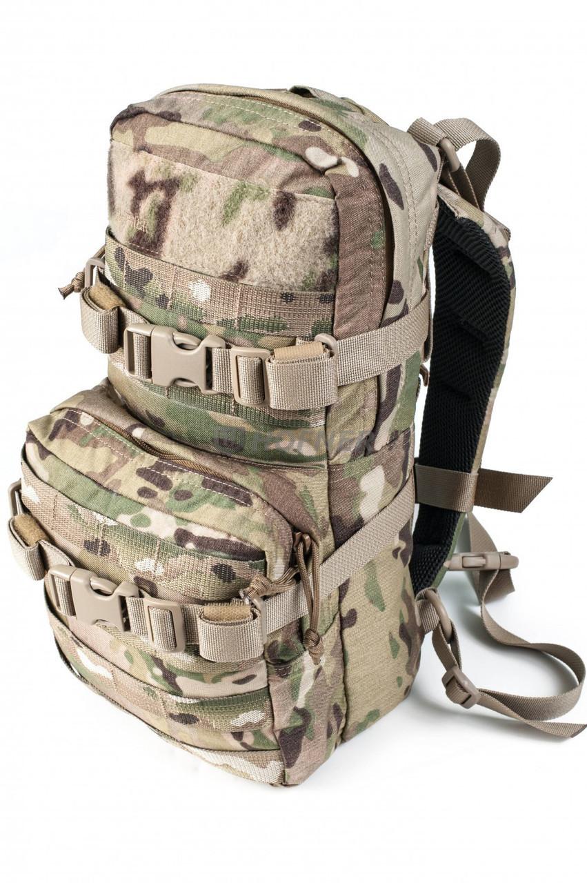 Штурмовой тактический рюкзак от Hofner (однодневный - 8л, Mil-spec Multicam)