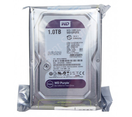 Жёсткий диск 1Tb WD10PURX (Hikvision)