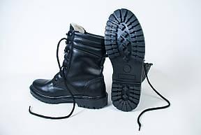 Берцы Cкорпион НАТО Черные Зимние , фото 2