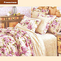Двуспальный комплект постельного белья VILUTA ранфорс-платинум Романтика