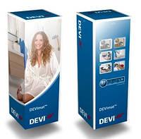 Нагревательный мат Деви двужильный DEVI 150T 0,5 м2 Теплый пол электрический
