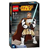 Конструктор Ksz 712-3 Звездные Войны реплика LEGO Star Wars Оби-Ван Кеноби 82 детали, фото 1