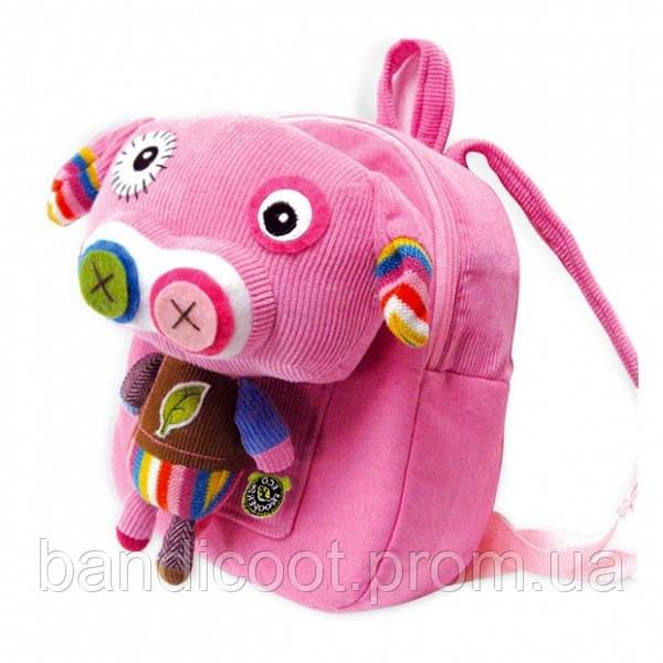 Рюкзаксосъемнымплюшевой игрушкой Pecoware Eco Snoopers Backpack by PECO