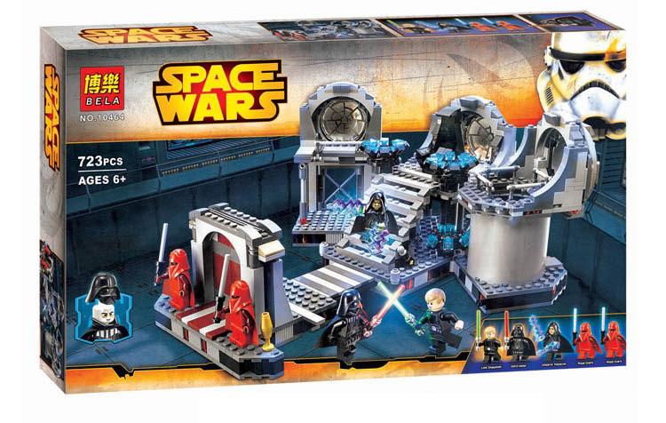 "Конструктор Bela 10464 аналог LEGO Star Wars ""Звезда Смерти: Последняя битва"", 723 дет"