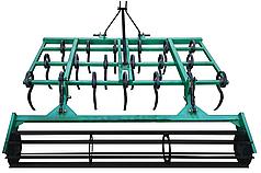 Культиватор для минитрактора пружинный сплошной обработки КН-1,6П