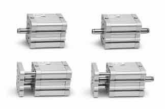 Компактные магнитные цилиндры Camozzi Серия 32 ISO 21287