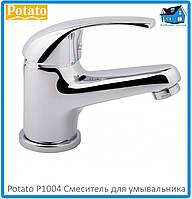 Смеситель для умывальника Potato P1004