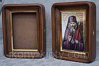 Киот для литографии Святого  Иоанна Шанхайского., фото 3