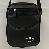 Спортивная молодежная сумка через плечо  адидас(Адида)   оптом