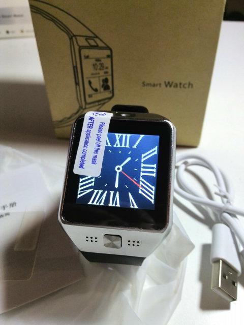 Универсальные часы Smart Watch DZ09 (SIM, microSD, камера, браузер)