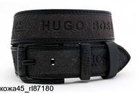 Ремень кожаный мужской Hugo Boss