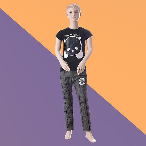 Манекен детский телесный - мальчик (стекловолокно, 144 см)