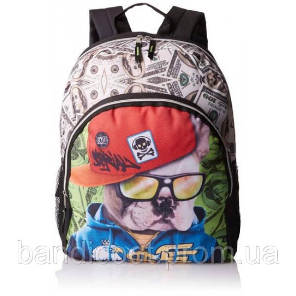 Рюкзак Бульдог  Skr Club Boys' Bulldog Photo Fashion Backpack