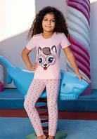 Детский комплект футболка и лосины BERRAK