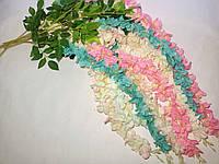 Ветка глицинии (115 см) (12 шт) 5 расцветок