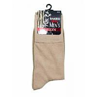 Носки MARILYN MESKIE BAMBO бамбуковые, размеры 39-42, 43-45, цвет беж