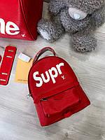 Крутой женский рюкзак LOUIS VUITTON mini Supreme (реплика), фото 1
