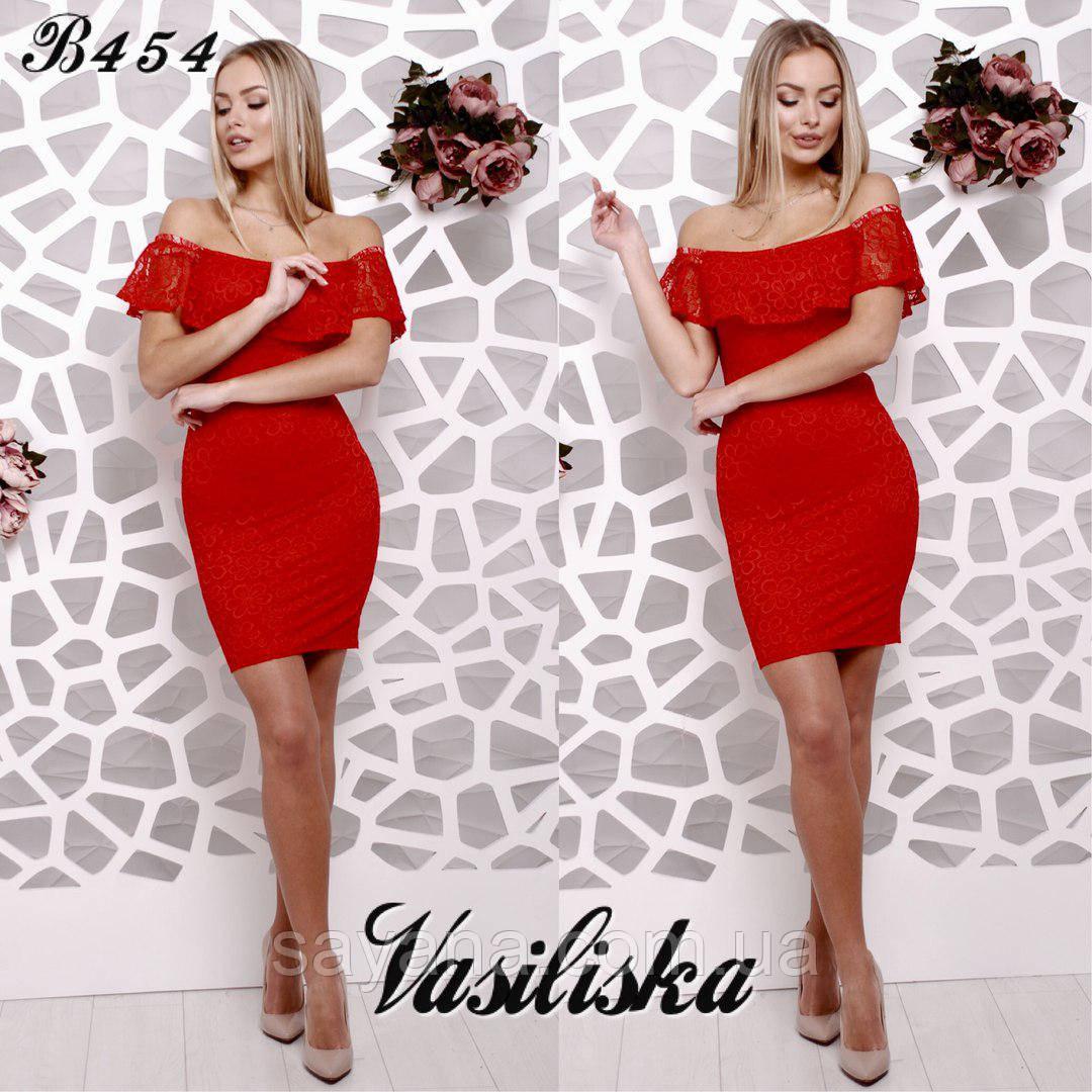 3fd06d21167 Купить Женское нарядное платье с воланом в расцветках. ВВ-43-0218 ...