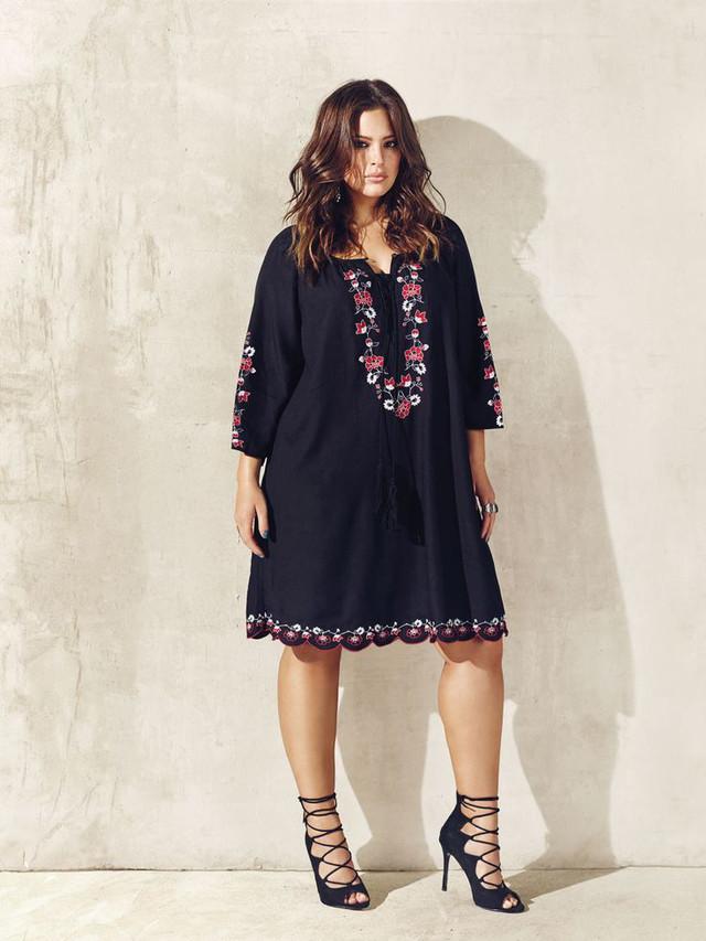стильные вечерние платья для полных 2018