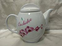 Чайник Фарфор 1700мм. Орхидея