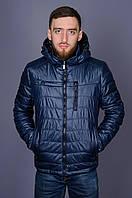 Мужская куртка ветровка Black Wolf 8525 синяя