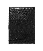 Обложка для паспорта  Ekzotic Leather Черный (sp01), фото 1