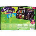 Большой набор для творчества 68шт Darice 68-Piece Art Set США  Darice Arty Facts Portable Art Studio Art Set , фото 2