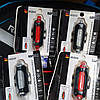 Фонарь велосипедный USB красный C01-093-R