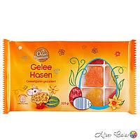 Пасхальные мармеладные конфеты в форме зайчиков «Gelle Hasen», 225 g. Германия