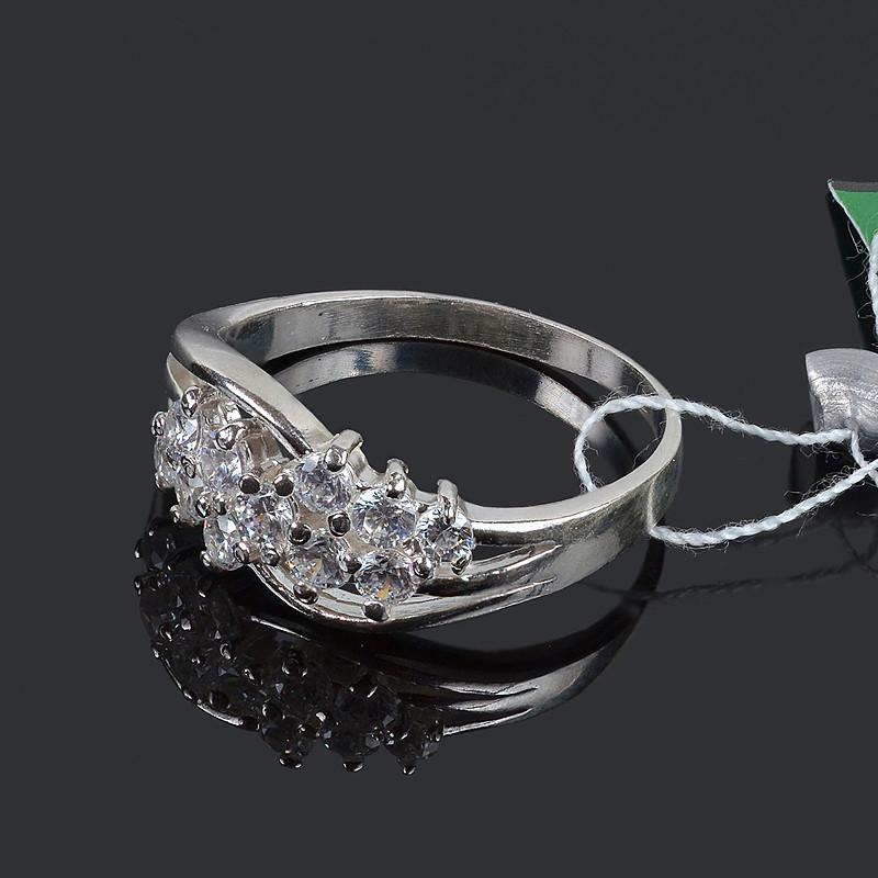 Серебряное кольцо с камнями Венера