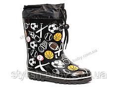 6c6cd2517 Обувь для непогоды оптом в Одессе. Детские резиновые сапоги бренда Леопард  для мальчиков (рр