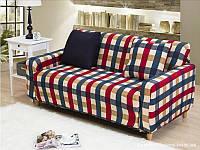 Чехол на диван в детскую HomyTex 145х185 см, Цвет в ассортименте