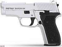 Шумовой пистолет Retay Arms Baron HK Nickel