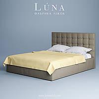"Кровать двуспальная мягкая ""Бруклін"" 180*200  с ламельным каркасом, фото 1"