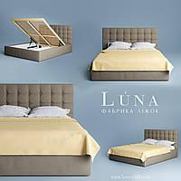 """Кровать двуспальная мягкая """"Бруклін"""" 160*200 с подъемным механизмом, фото 1"""