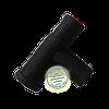 Тройник на крышку бидона резиновый