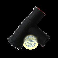Тройник на крышку бидона резиновый, фото 1