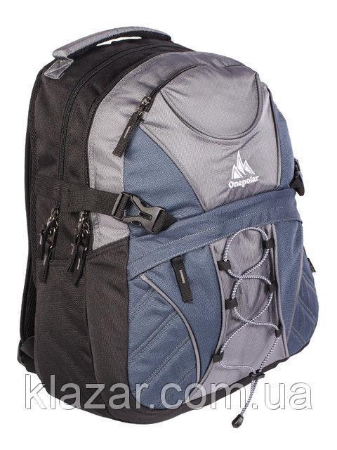 Городской надежный рюкзак 25 л One polar W1313 для ноутбука