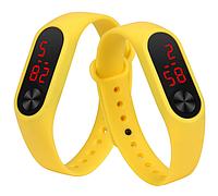 Жёлтый браслет для Mi Band 2