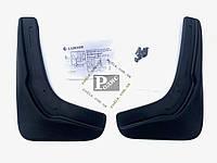 Брызговики L.Locker на Volkswagen Passat В6 /B7 передние - Брызговики L.Locker на Фольксваген Пассат B6 / B7