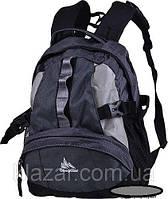 Надежный городской рюкзак 20 л One polar W1013 эргономичный серый