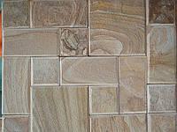 Тротуарная плитка из натурального камня (песчаника)