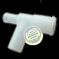 Тройник на крышку бидона пластиковый, фото 1