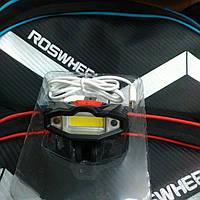 Фонарь велосипедный USB белый C16-901, фото 1
