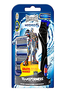 Wilkinson Sword Hydro 5 Набор  Vorteilspack Transformers Edition с 4 лезвиями + бритва