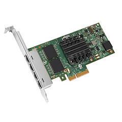 Контролер Quad Port Gigabit Ethernet Server Adapter I350T4