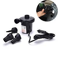 Электрический электро насос для надувной продукции работающий от прикуривателя 12 вольт intex
