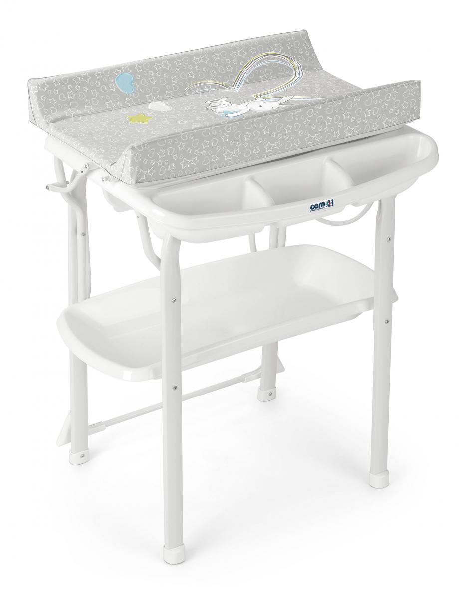 """Столик для пеленания """"AQUA SPA CAM"""", серый"""