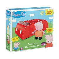 Конструктор Peppa Pig Семейная машина, 16 деталей и 1 фигурка
